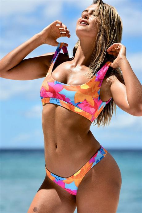 Sexy strappy Swimwear swimsuit two piece Bikini