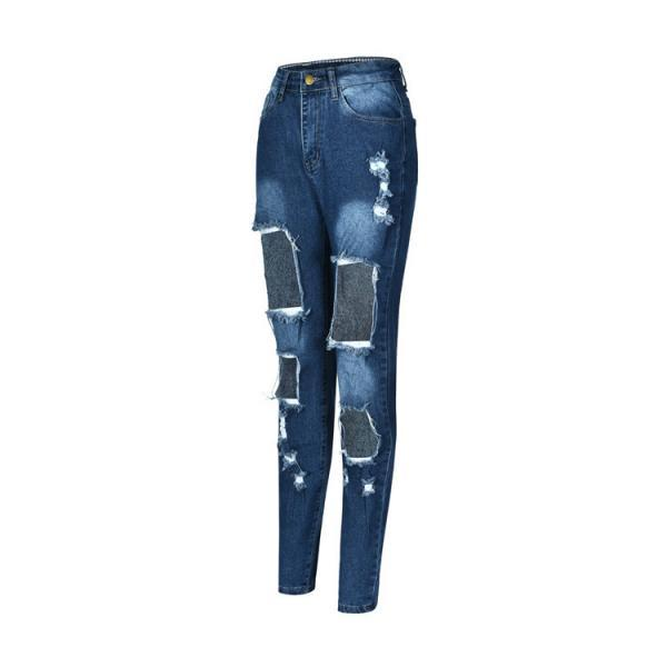 Large Size Denim Pants